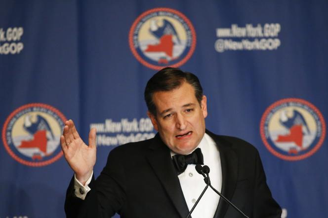 Le candidat à l'investiture du Parti républicain Ted Cruz, le 14 avril 2016.