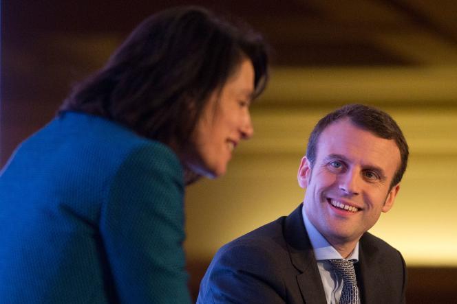 Le ministre de l'économie Emmanuel Macron lors du sommet
