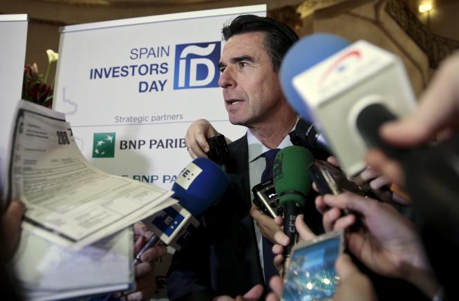 Le ministre démissionnaire de l'industrie espagnol, José Manuel Soria, mis en cause dans l'affaire des