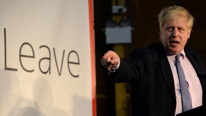 Chef de file du camp favorable au «Brexit», l'ex-maire de Londres, Boris Johnson– ici le 15 avril 2016– estime que le Royaume-Uni peut « prospérer comme jamais» hors de l'Union européenne.