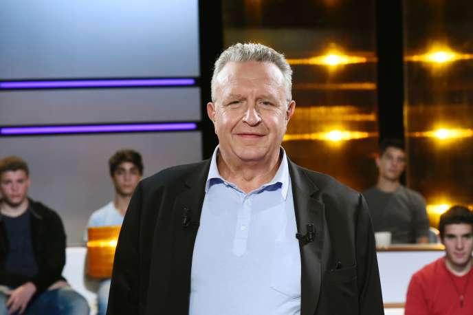 Le journaliste Michel Field, en septembre 2014.