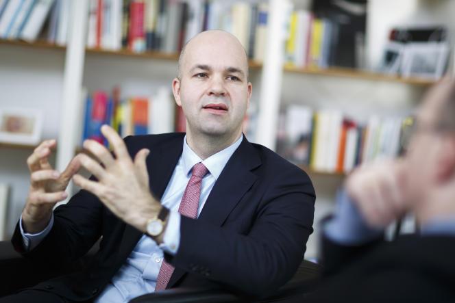 Le président du DIW et économiste allemand, Marcel Fratzscher.