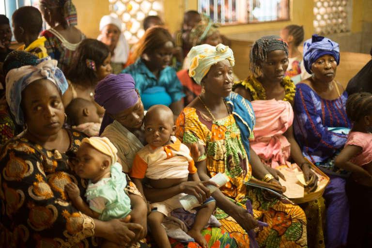 Dans un hôpital de Guinée, en 2016.