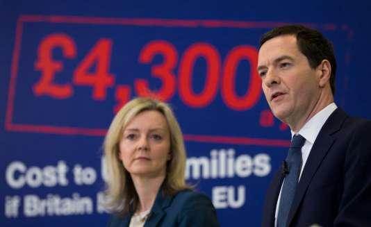 George Osborne, le ministre des finances du Royaume-Uni, à Bristol, le 18 avril.