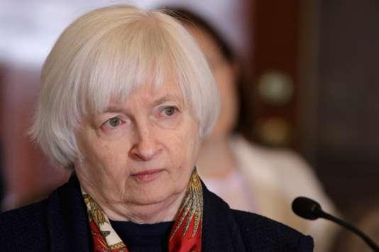 Janet Yellen, la présidente de la Réserve fédérale, le 14 avril à Washington.
