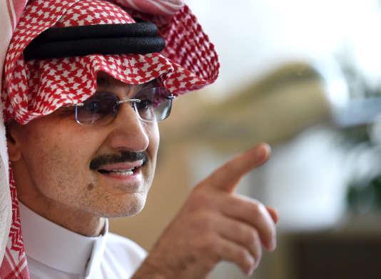 Le prince saoudien Al-Walid, le 1er juillet 2015.