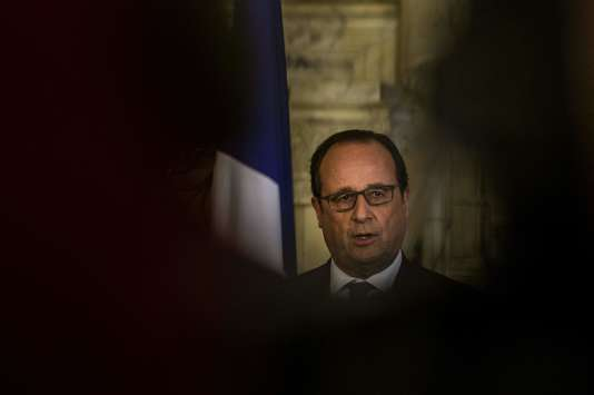 François Hollande, au Caire, le 17 avril.