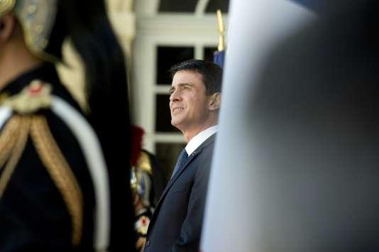 Manuel Valls, le 18 avril.