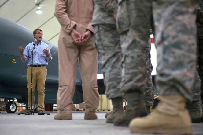 Le ministre américain de la défense, Ashton Carter.
