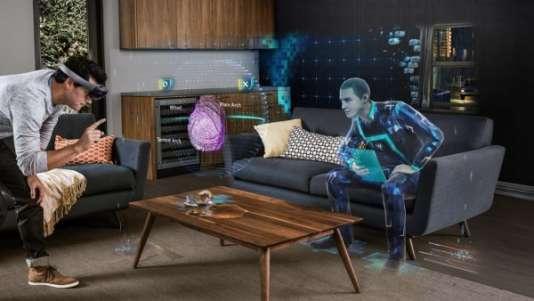 """Dans le jeu """"Fragments"""", une enquête sur une disparition, le joueur peut collecter des indices dans son propre salon."""