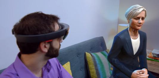 """Le jeu """"Fragments"""" permet à l'utilisateur de HoloLens de mener l'enquête sur une disparition."""