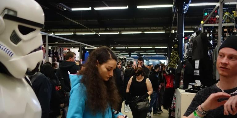 Paris Comics Expo.