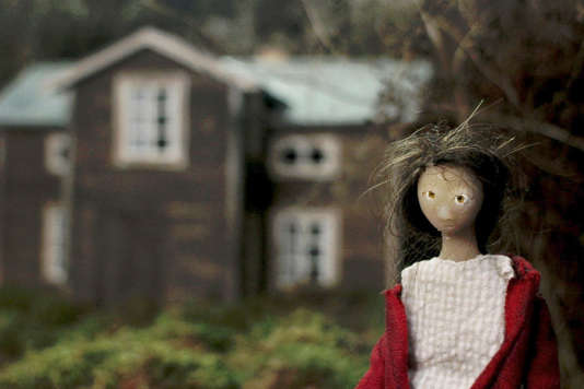 "Une séquence d'animation dans le film suédois de Hanna Sköld, ""Granny's Dancing on the Table""."