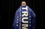 Lors d'un meeting de Donald Trump à Poughkeepsie, dans l'Etat de New York, dimanche 17 avril 2016.