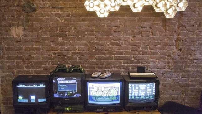 Le lobby de l'hôtel Arcade devrait plaire aux adolescents.