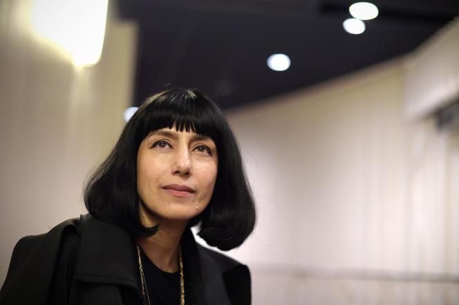 L'actrice, scénariste et réalisatrice, Ronit Elkabetz à Hollywood en octobre 2014.
