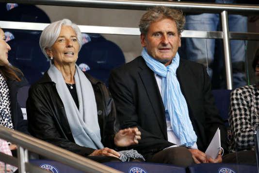 Christine Lagarde et Xavier Giocanti le 9 novembre 2014.
