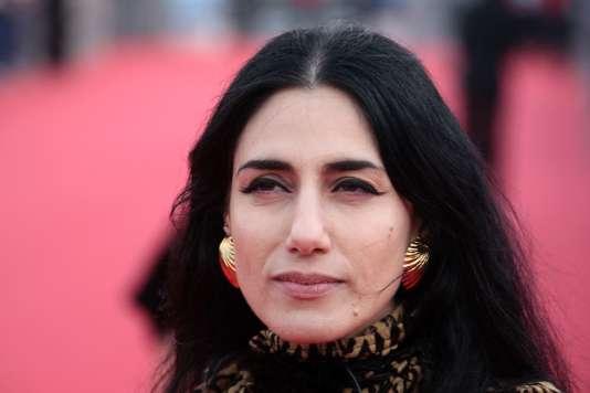 L'actrice, scénariste et réalisatrice, Ronit Elkabetz, à Deauville, en septembre 2009.