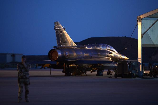 Lors de la campagne libyenne, l'armée de l'air avait largué 1400 bombes et missiles (photo d'illustration).