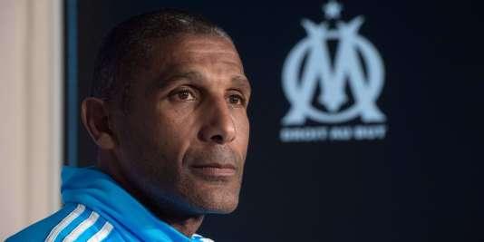 Franck Passi, le nouvel entraîneur de l'Olympique de Marseille.