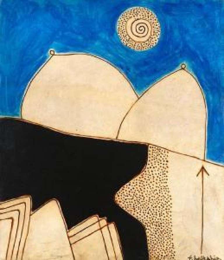 Oeuvre du peintre Fardi Belkahia.