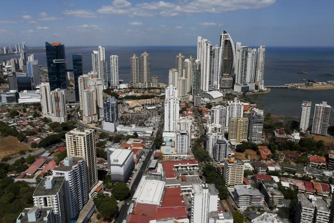 Vue générale de la capitale du Panama, paradis fiscal majeur, le 6 avril 2016.