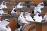 Le ministre de l'intérieur Mohammad al-Khaled al-Sabah Au parlement du Koweït le 29 mars 2016.
