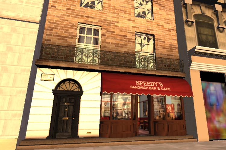 """221B Baker Street, la célèbre adresse de Sherlock Holmes, existe aussi dans """"Second Life"""", dans la version de la série de la BBC."""