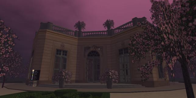 Une Canadienne a bâti le Petit Trianon dans «Second Life».