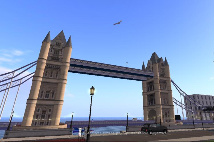 Le Tower Bridge de Londres.