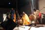Toumani et Sidiki Diabaté en concert durant le Bamako Acoustik Festival à Bamako (Mali), le 27 janvier 2016.