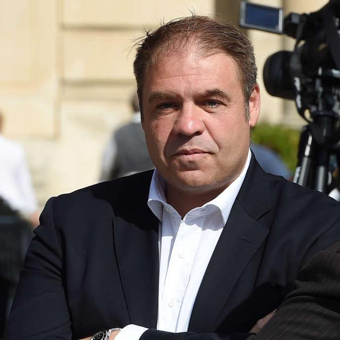 Axel Loustau, à Marseille, le 6 septembre 2015.