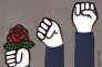 """""""Un « nous » de gauche doit être capable d'agréger plusieurs luttes différentes, mais des luttes démocratiques, face à différentes formes d'oppression et au nom de valeurs de gauche, comme la justice sociale, l'inclusion, l'égalité""""."""