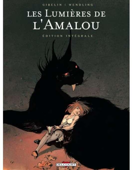 """""""Les Lumières de l'Amalou"""" est une série en cinq tomes publiée chez Delcourt."""