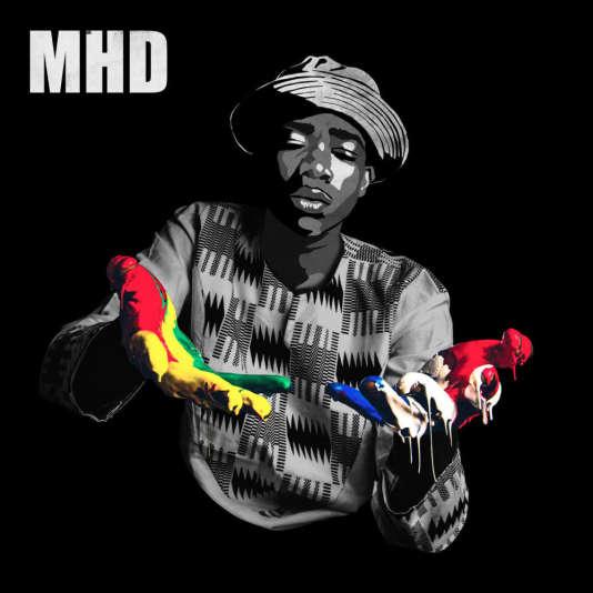 Pochette de l'album « Afro Trap», de MHD.