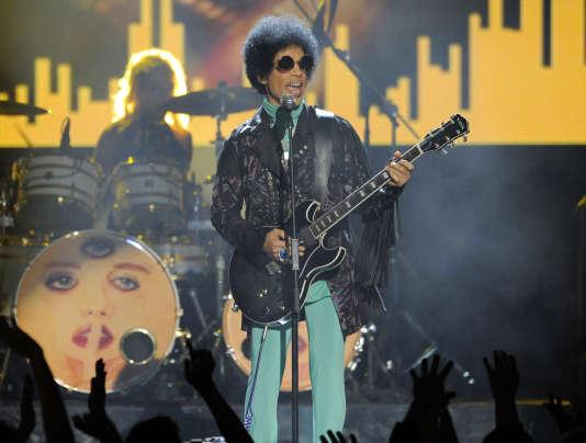 Prince, le 19 mai 2013, à Las Vegas (Nevada).