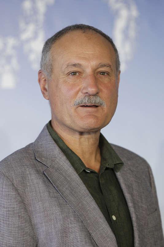 Le scénariste Tony Grisoni au 40e Festival du film de Deauville, en septembre 2014.