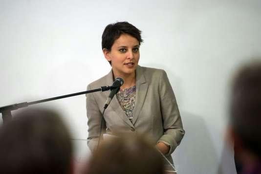 Najat Vallaud-Belkacem à Marseille le 18 avril 2016.