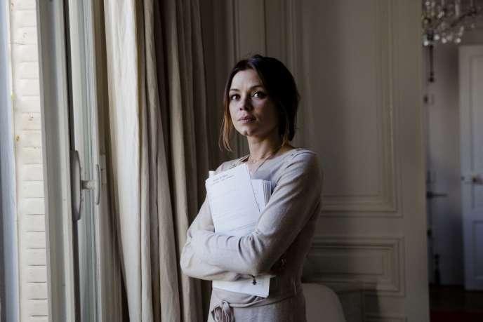 Mariana Gomez-Turri chez son oncle à Paris, le 18 avril 2016.