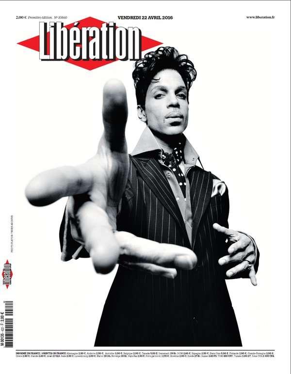 La «une» du quotidien «Libération» du 22 avril.