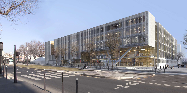 A Paris Une Cité Scolaire Rasée Et Reconstruite