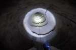 Dans un tunnel sous la frontière entre le Mexique et les Etats-Unis.