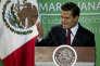 Enrique Peña Nieto à Mexico, le 21 avril 2016.