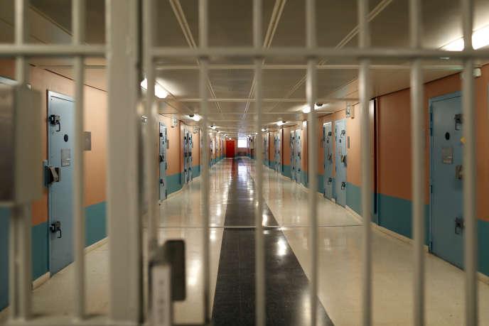 Dans la prison de Fleury-Merogis, en mai 2014.