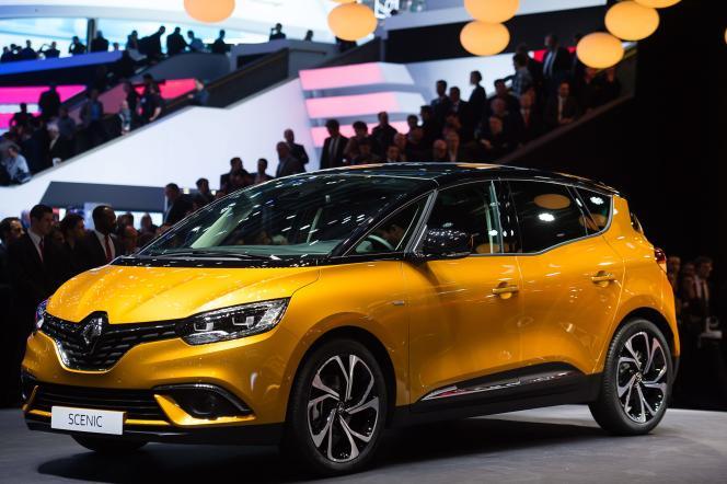 Le Scénic de Renault, présenté au Salon de Genève début mars.