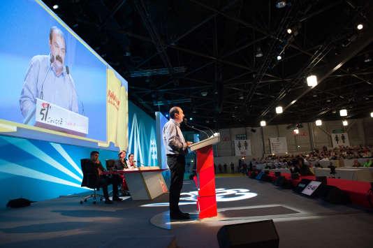 Philippe Martinez a été réélu secrétaire général de la confédération générale du travail lors du 51e congrès de la CGT à Marseille.