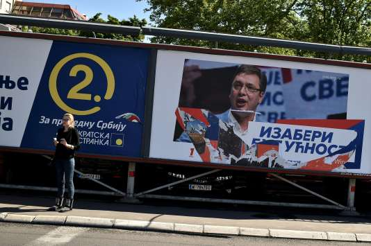 Quelque 6,8 millions de personnes sont appelées aux urnes, dimanche 24 avril en Serbie, pour un scrutin à la fois législatif et local.