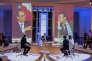 """François Hollande lors de l'émission """"Dialogues citoyens"""" sur France 2, le 14 avril 2016."""