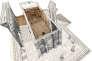Restitution en 3D du temple de Bêl, à Palmyre (Syrie), réalisée à l'aide d'archives (dessins, plans, photos), avant sa destruction par l'EI.