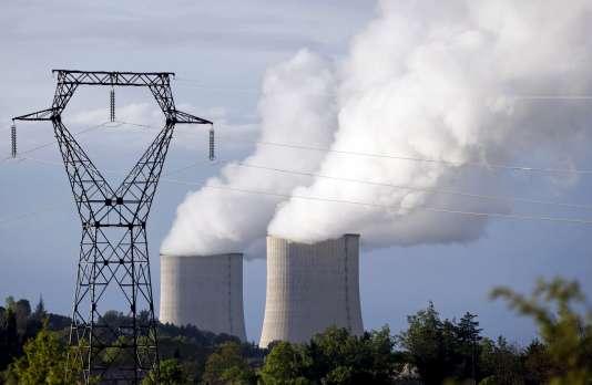 La centrale nucléaire de Golfech (Tarn-et-Garonne), le 23 avril 2016.
